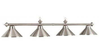 "78"" 4 LT BILLIARD LIGHT-STAINLESS"