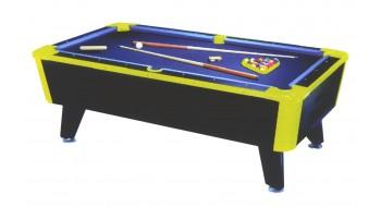 5 pi table de billard pliable table de billard avec accessoires r/églables tables de billard pliante et autres accessoires et des balles,Green Black
