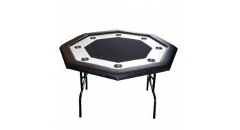 Table pliante Monaco octagonale Noire 8j