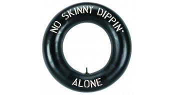 NO SKINNY DIPPING LIFE SAVER