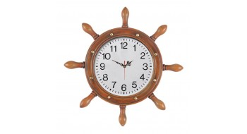 LG CAPTAINS WHEEL W/ CLOCK