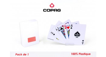 carte Pocker Copag plastique