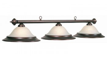 "60"" 3 LT BILLIARD LIGHT-OIL RUBBED BRONZE"