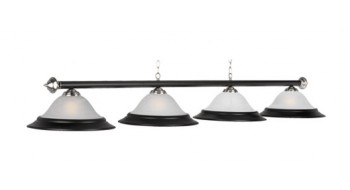 "82"" 4 LT BILLIARD LIGHT-MATTE BLACK/ST"