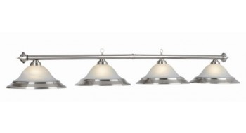 "82"" 4 LT BILLIARD LIGHT-STAINLESS"