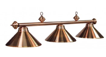 "54"" 3LT BILLIARD LIGHT- ANTIQUE COPPER"