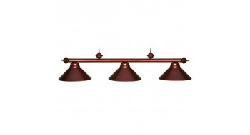 "54"" 3LT BILLIARD LIGHT- CHESTNUT"