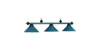 "54"" 3LT BILLIARD LIGHT- MATTE BLUE/BLK"