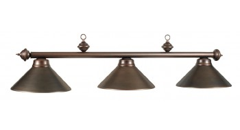 "54"" 3LT BILLIARD LIGHT- OIL RUBBED BRONZE"