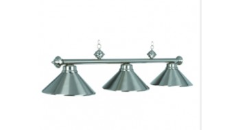 "54"" 3LT BILLIARD LIGHT- STAINLESS"