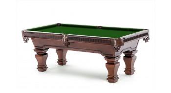 Table Billard Marsa en vieux walnut 8p avec 25 ans Garantie