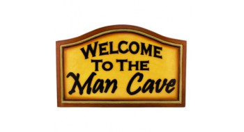 Decor de mur MAN CAVE