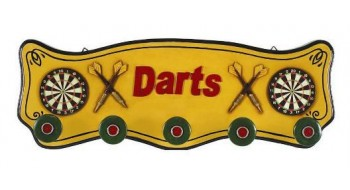 Darts Coat Rack