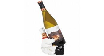 Sitting Chef Wine Caddie