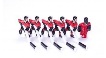 Equipe C 6 Joueurs Rouge