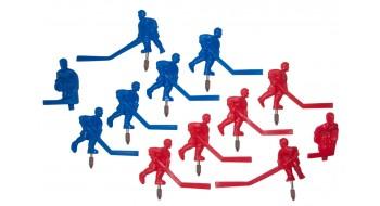 Set equipe Hockey Carrom B/R