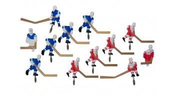 Set equipe Hockey Carrom metal