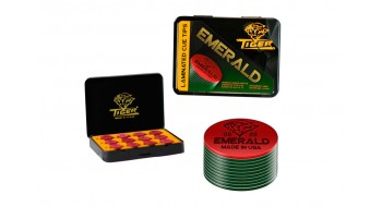 Tips de baguette Emerald 14mm