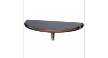 Table murale avec repose-Baguette CAPPUCCINO